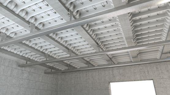 suspente lx12 support pour fixation des faux plafonds. Black Bedroom Furniture Sets. Home Design Ideas