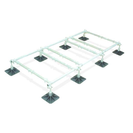 support pour unit s de climatisation ou de ventilation. Black Bedroom Furniture Sets. Home Design Ideas
