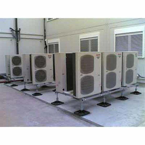 support pour unit s de climatisation ou de ventilation big foot systems aspen pumps salina. Black Bedroom Furniture Sets. Home Design Ideas