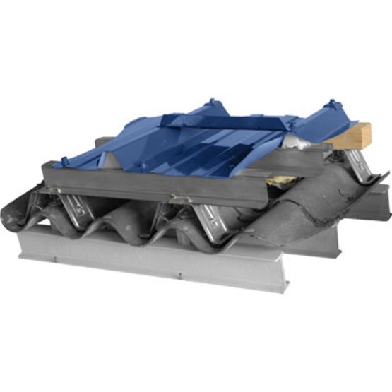 Surtoiture sans per age de la plaque en amiante ciment lr etanco - Couverture fibro ciment ...