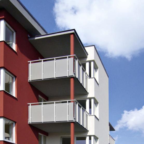 Balcon Et Structure En Acier Sublimant Votre Extérieur: Système Garde-Corps Systema