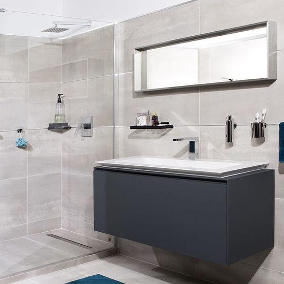 Système de fixation des accessoires COSMOPOLITAN sans perçage pour la salle  de bain | fixMI®