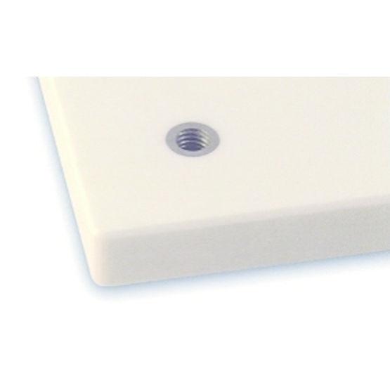 Syst me de fixation invisible pour panneau en corian for Systeme anti aboiement exterieur pour chenil
