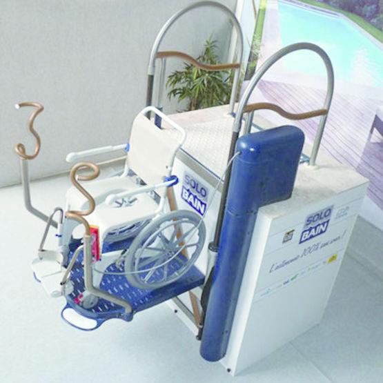 Syst me de mise l 39 eau pour pmr solobain euro piscine services for Piscine 20000 euros