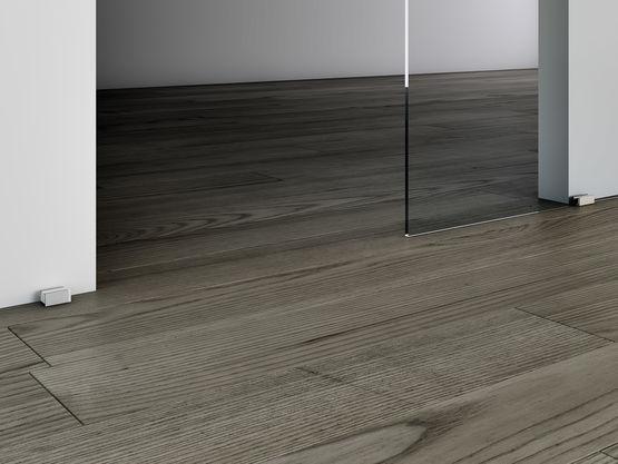 unikglass syst me coulissant vitr sans rail au sol batiproduits. Black Bedroom Furniture Sets. Home Design Ideas