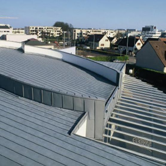 syst me de toiture chaude en zinc pr patin vmz toiture structurale vmzinc. Black Bedroom Furniture Sets. Home Design Ideas