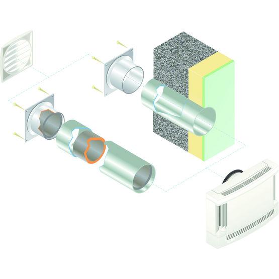 Systme De Ventilation Pour Btiment Isol Par LExtrieur  Eht  Aldes