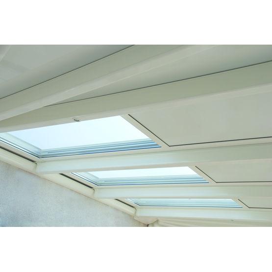 Syst me ouvrant ou occultant pour toiture de v randas renoval - Materiaux pour toiture de veranda ...