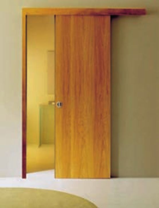 kit coul syst me pour portes coulissantes en applique. Black Bedroom Furniture Sets. Home Design Ideas