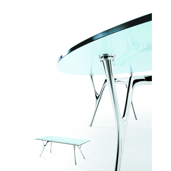 Table au design contemporain