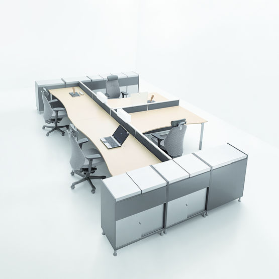 Table de bureau modulable