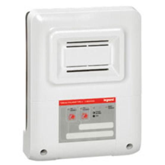tableau d 39 alarme incendie de type 4 pour l 39 alimentation jusqu 39 24 diffuseurs alarme incendie. Black Bedroom Furniture Sets. Home Design Ideas