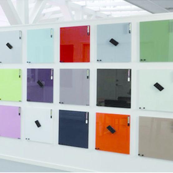 tableau magn tique en verre pour affichage et criture chat board chat board focus product. Black Bedroom Furniture Sets. Home Design Ideas