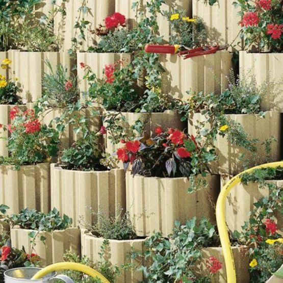 Moduflor marlux bloc creux talus v g talisable batiproduits - Bloc beton pour talus ...