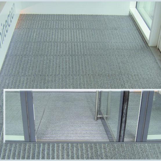tapis d 39 entr e pour une utilisation intensive dupliflor. Black Bedroom Furniture Sets. Home Design Ideas