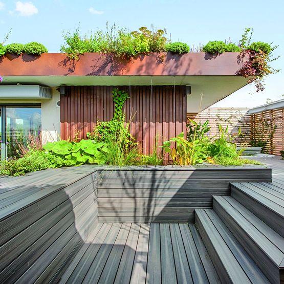 Lames De Sol En Bois Composite Pour Terrasses Et Jardins