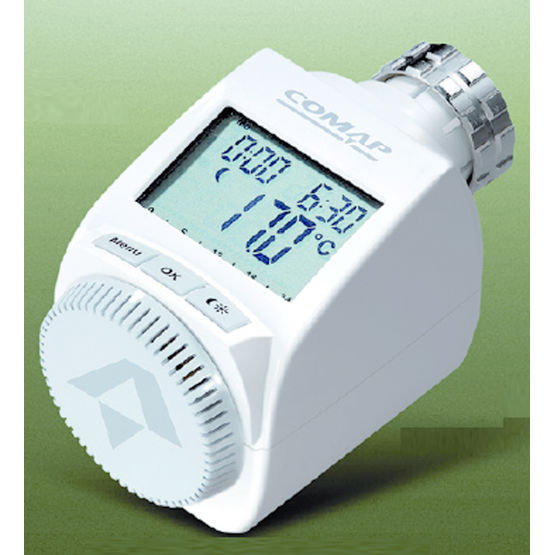 Tete Thermostatique A Programmation Intuitive E Senso Comap