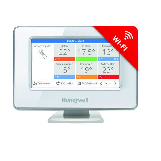 how to connect my honeywell thermostat to wifi
