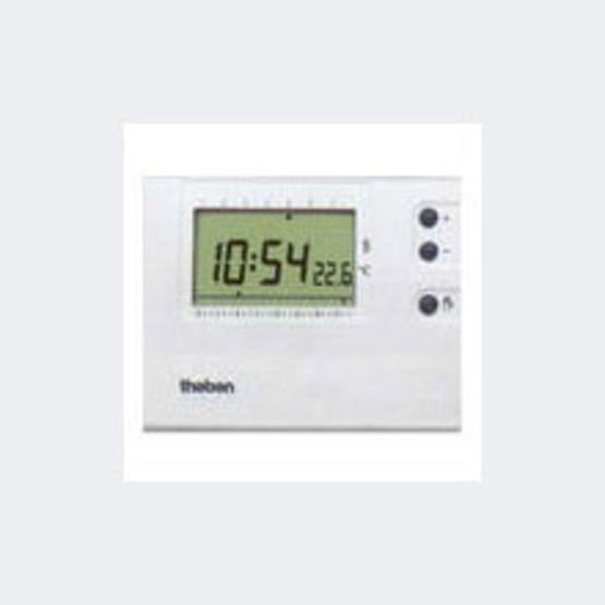 Thermostat d 39 ambiance lectronique programmable theben - Thermostat d ambiance programmable filaire ...