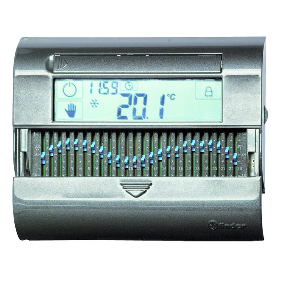 Thermostat programmable à curseurs