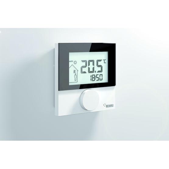 thermostat programmable distance pi ce par pi ce nea smart rehau. Black Bedroom Furniture Sets. Home Design Ideas