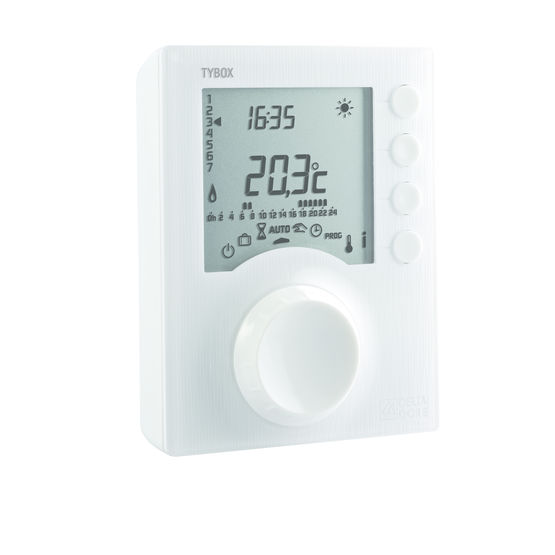 Thermostat programmable à liaison filaire | Tybox filaire