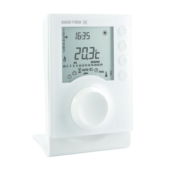Thermostat programmable à liaison radio