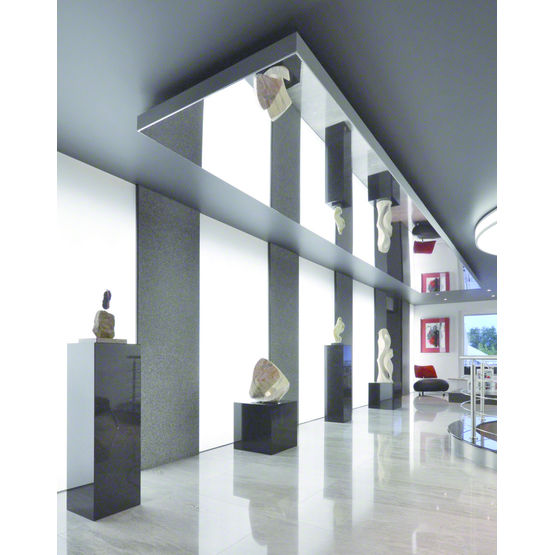 toile effet miroir tendue sur cadre barrisol mirror barrisol normalu. Black Bedroom Furniture Sets. Home Design Ideas
