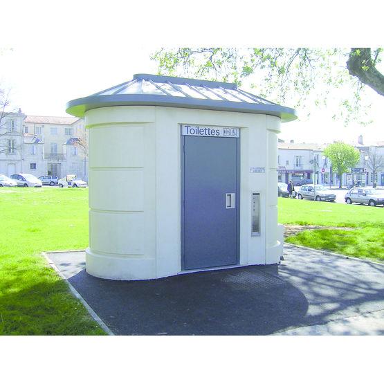 Toilettes pr fabriqu es ext rieures nettoyage automatique mps - Nettoyage toilettes encrassees ...