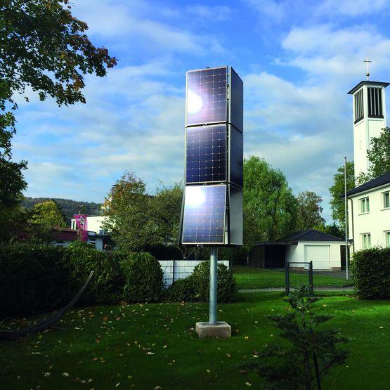 Tour solaire haute performance pour pose en espace vert for Espace vert tours