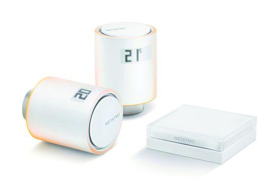 Vanne thermostatique connect e pour radiateur netatmo - Vanne thermostatique connectee ...