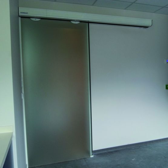 Vantail Vitré Pour Portes Automatiques | Porte Coulissante Lumina