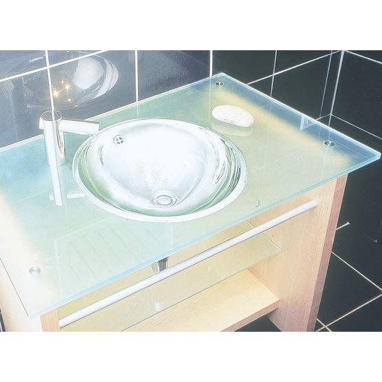 vasque de salle de bain Vasque acier inox pour salle de bains | LMX