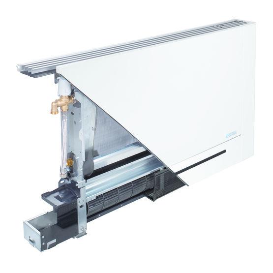 ventilo convecteur inverter extra plat panneau radiant. Black Bedroom Furniture Sets. Home Design Ideas