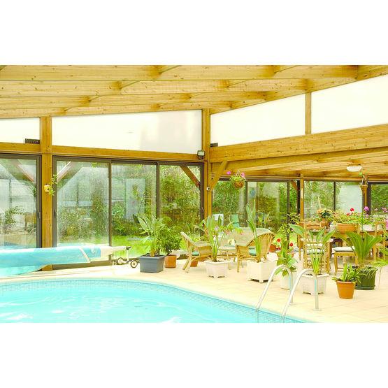 V randa pour couverture de piscine couverture de piscine for Veranda pour piscine