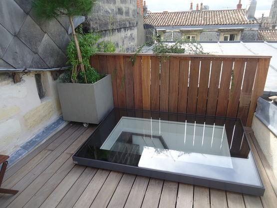 verri re de toit motoris e ouvrante de 87 d 39 angle par projection gv skydoor glazing vision. Black Bedroom Furniture Sets. Home Design Ideas
