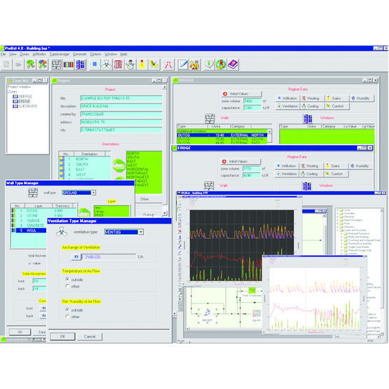 Version 16 du logiciel trnsys du cstb cstb paris - Logiciel calcul plomberie ...