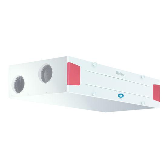 vmc double flux extra plate pilotable distance helios. Black Bedroom Furniture Sets. Home Design Ideas