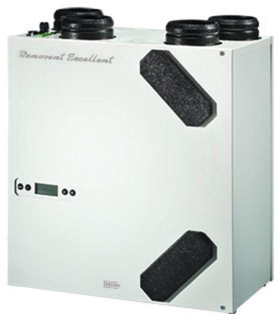 Vmc double flux jusqu 180 m3 h de d bit renovent excellent 180 brink cl - Calcul debit vmc double flux ...