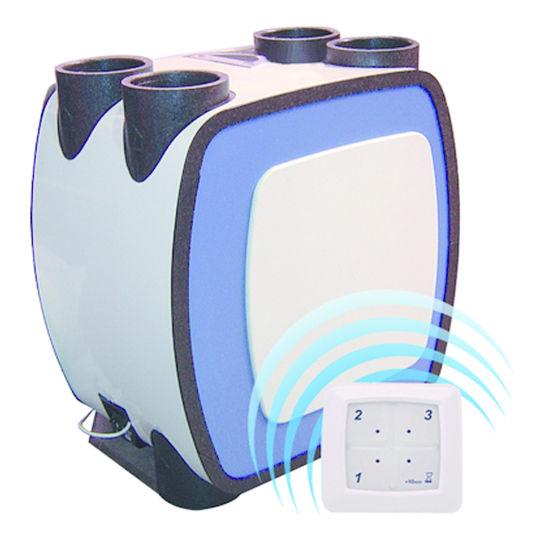 Vmc radiocommand e pour ventilation g othermique double for Moteur vmc double flux