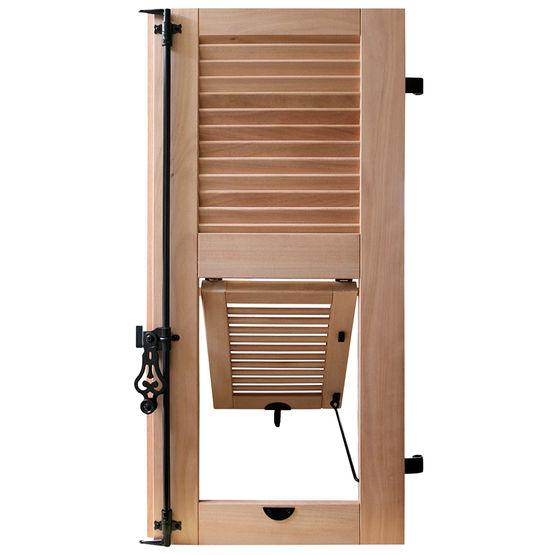 volets bois lames verticales ou persienn es sothoferm. Black Bedroom Furniture Sets. Home Design Ideas