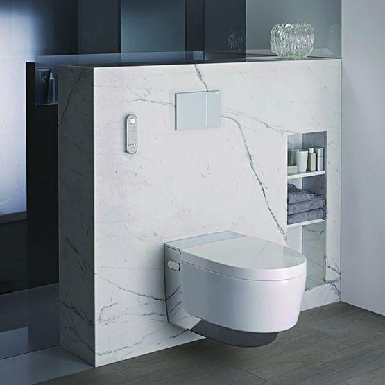 wc lavant douchette 2 buses et chauffe eau hybride aqua clean ma ra geberit. Black Bedroom Furniture Sets. Home Design Ideas