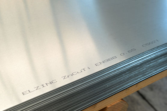 zinc lamin en bobines bobineaux ou feuilles elzinc