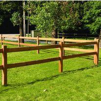 Clôtures bois pour grands espaces ou enclos | Oxford et Montana