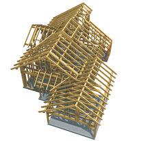 Logiciel de construction de maisons pr fabriqu es en madriers for Logiciel de construction de maison