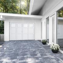 V nus porte de garage 2 vantaux batiproduits for Porte de garage icare