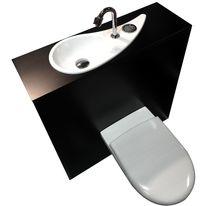 Alliance : WC à poser avec lave-mains design intégré ...