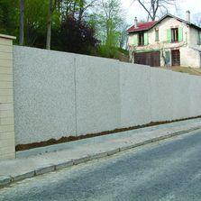 Blindages et syst me de sout nement produits du btp for Mur en beton decoratif