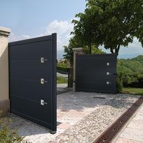 Panneau décoratif contemporain Volma TrendyDeco en aluminium pour portails | TrendyDeco