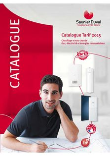 Catalogue Tarif 2015